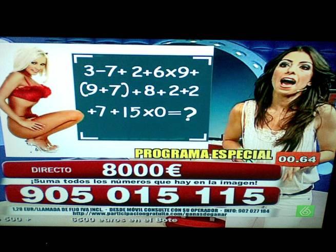 No es 77, ni 86, ni 0. No tiene solución.